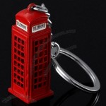 Telephone Box Keychain