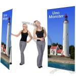 Telescopic Banner Stand Uno Monster 48w Banner Telescopes Up to 7ft