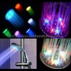 Temperature Control Multiple Color LED Shower Light