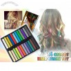 Temporary Hair Chalks 24 Colour Set
