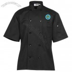 Ten Button Short Sleeve Chef Coat