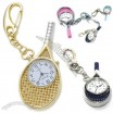 Tennis Racket Keychain Watch