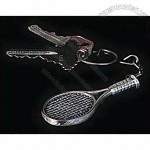 Tennis Racquet Key Chain