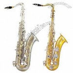 Tenor Saxophone In Different Color Finishes