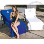 Terry Chaise Lounge Chair Cover