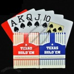 Texas Hold'em Waterproof Plastic Poker Playing Cards