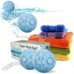 The Amazing Super Wash Ball Plus -The Eco Clean Way Never to Use Laundry Detergent Again