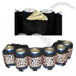 The Beer Belt Six Pack Can Holder - Leopard