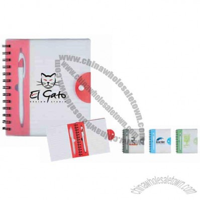The Hideaway - Spiral Notebook Includes 100 Ruled Pages And A Matching Retractable Pen