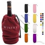 The Niagara Fleece Wine Bag