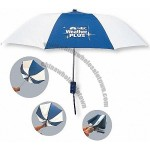 The Revolution Folding Umbrellas with Rubber Handle