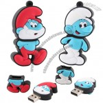 The Smurfs Themed USB Flash Drives