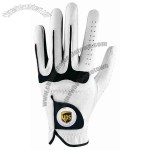 The Wilson ProStaff Ti golf glove offers microfiber synthetics for superior fit