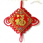 The Word Blessing Chinese Knot