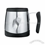 Thermos 16 Ounce Stainless Steel Desk Mug