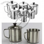 Thick Stainless Steel Mug with Lid