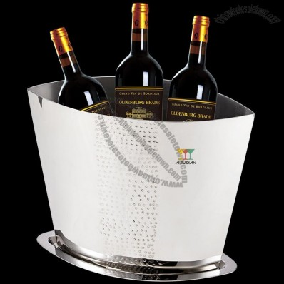 Thick Stainless Steel Wine Ice Bucket