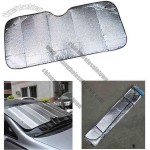 This Car Sunshade can protect against rain, snow, nicks and scratches