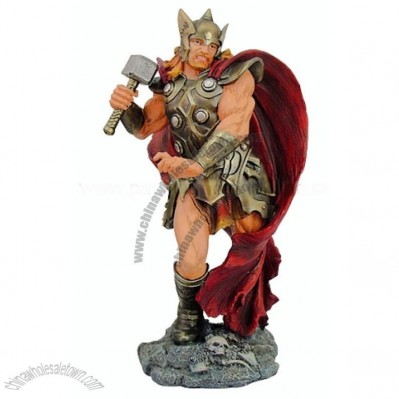 Thor, Norse God of Thunder Statue