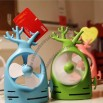 Three Design Mini Fan with Memo Clip