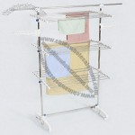 Three Layer Laundry Rack