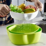 Three Layer Thick Plastic Drain Fruit Tray