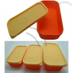 Three Size Silicone Lunch Box