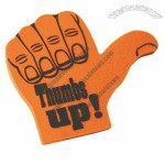 Thumbs-up Foam Hand Mitt - (16