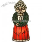 Tiffany Mrs Claus Accent Lamp