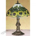 Tiffany Wild Sunflower Accent Lamp