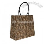 Tiger Design Carrier Bags with Twisted Handles