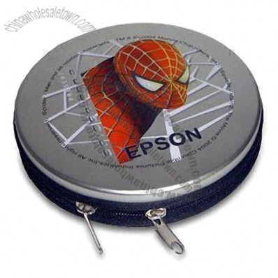 Tin CD Case