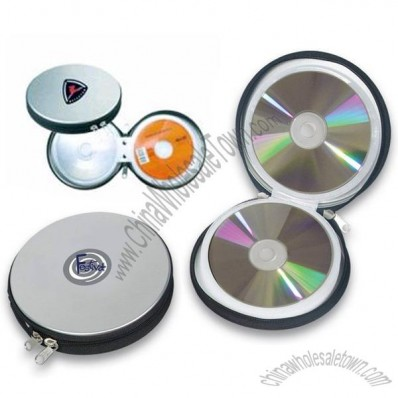Tin DVD & CD Packaging with Zipper