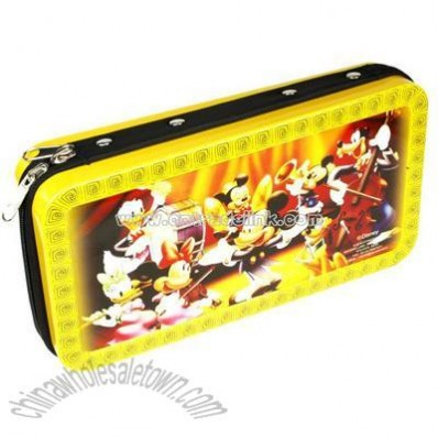 Tinplate CD case with 64pcs inner pages
