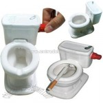 Toilet Ashtray Gag Novelty Gift Toy