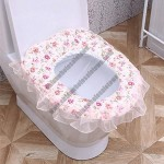 Toilet Seat Mat with Gauze