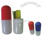 Tongue Depressor Capsule Holder