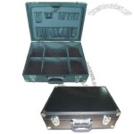 Tool Cases with Aluminum Sheet Surface and Two Metal Key Locks