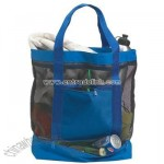Tote - Large Mesh Tote with Kooler Bottom