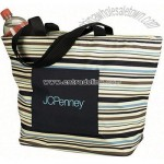 Tote Bag - Striped Insulated