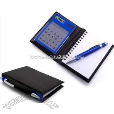 Touch Screen Calculator with Notebook