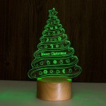 Touch remote control Christmas tree night light