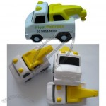 Tow Truck Stress Ball - Crane Shape Toy