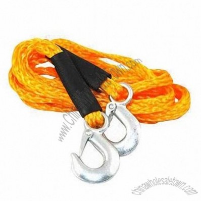 Tow rope, ratchet tie down, tow strap