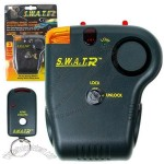 Trademark Global Steering Wheel Auto Alarm with Remote Control