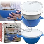 Trademark Kitchen Accessories - Cool Touch Microwave Bowl