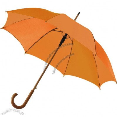 Tradition Wooden Umbrella Automatic