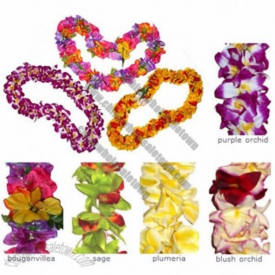 Traditional Hawaiian Flower Lei