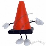 Traffic Cone Figure Stress Balls