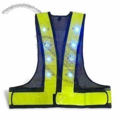 Traffic Reflective LED Safety Vest